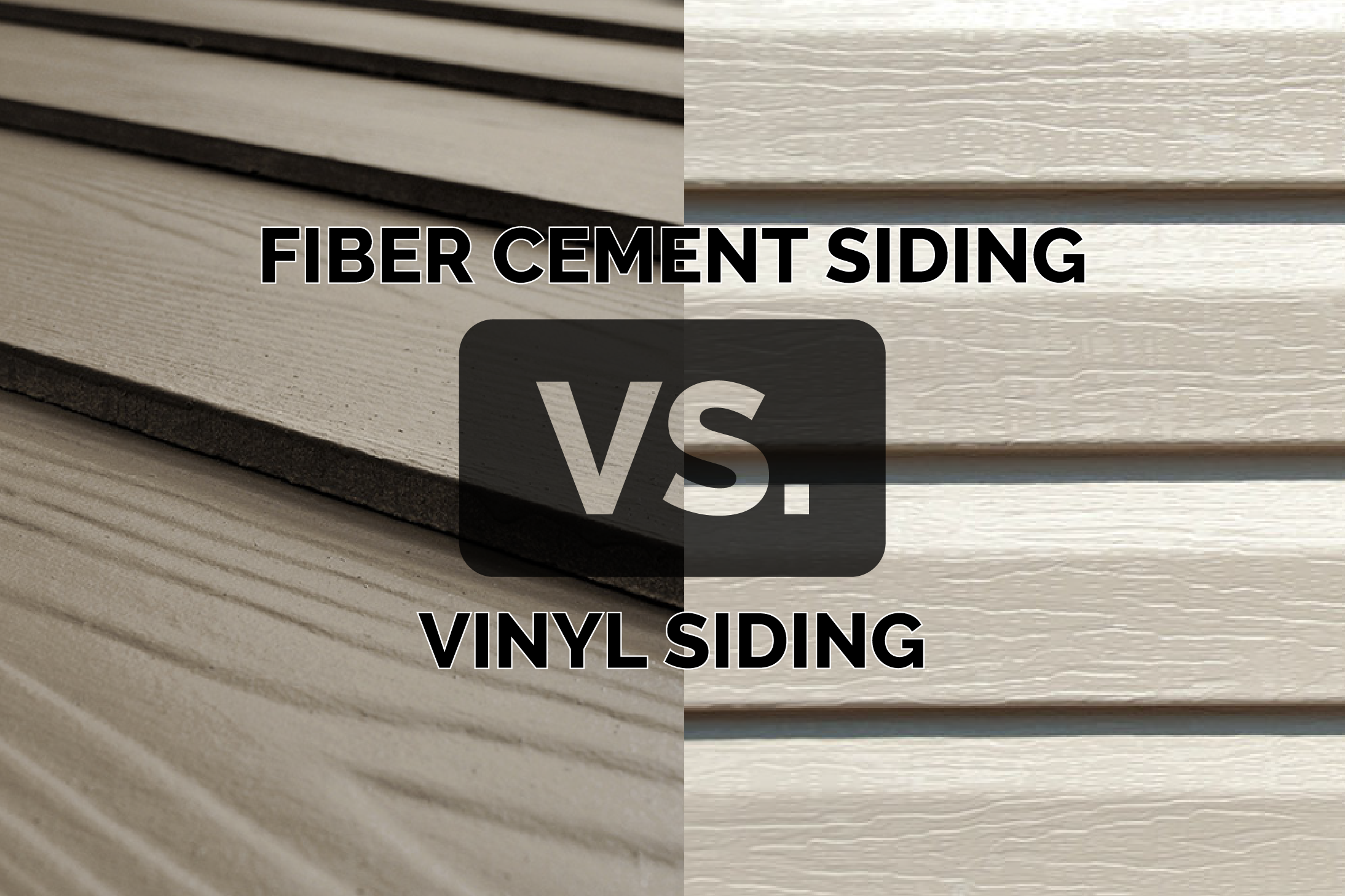 7 Popular Siding Materials To Consider: Fiber Cement Vs. Vinyl Siding. Which Is Better For