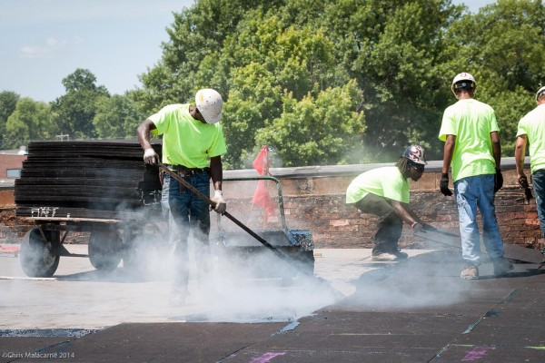 Built Up Roof Installation : What to look for when inspecting your roof illinois